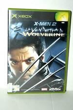 X-MEN 2 LA VENDETTA DI WOLVERINE USATO XBOX EDIZIONE ITALIANA PAL FR1 41763