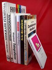 7 x Fotografie Fotoschule Dunkelkammer Digital Foto - en bloc Paket Sammlung