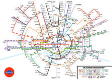 Tube Poster Cool London Underground Poster Styled FREE P+P A1 3ft x 2ft (approx)