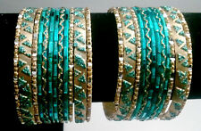Indian Pakistani Party Women Fancy Saree Jewelry Dance Bracelet Bangle 24Pc #237