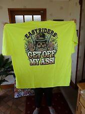 """Easy Rider, sal de mi trasero 3 XL 56"""" camiseta en el pecho, nuevo"""