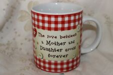 Mug Cup Tasse à café Mother and Daughter Love Grows Patchwork
