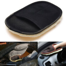 Car Valeting Polish Cleaning Microfibre Wash Brush Mitt Mit Glove Cloth Wood