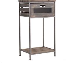 Mesas mesas auxiliares de metal para el hogar