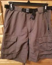 The North Face Men's Cargo Hiking Shorts Size Small Brown