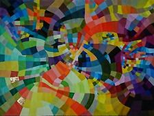 """HAND MADE Abstract Painting on canvas """"OCTOBER... in progress"""""""