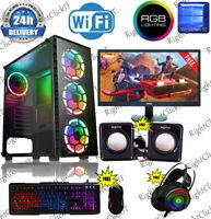 FAST  RAPID Gaming PC Intel Core i7 16GB DDR3 128SSD GT 1030 WIN 10