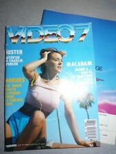 Magazine revue VIDEO 7 #68 juin 1987 Pia Snow