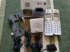 AT&T EL52213 2-Handset Expandable Cordless Phone w/ Answering System