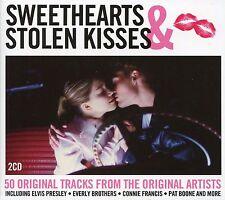 SWEETHEARTS & STOLEN KISSES - 2 CD BOX SET - ROCKIN' ROBIN, YOUNG LOVE & MORE