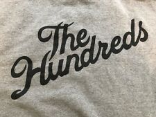 The Hundreds Script Full Zip Up Hoodie  Heavy Premium Quality Sweater