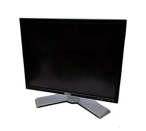"""Dell 2007FPb 20"""" inch LCD 1600 x 1200 4:3 Display Monitor Screen + Cables"""