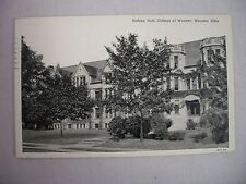 VINTAGE POSTCARD OF HOLDEN HALL AT THE COLLEGE OF WOOSTER IN WOOSTER, OHIO 1941
