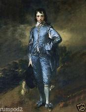 Vintage Art Print/Poster/Blue Boy/Reproduction/1794 by Thomas Gainsborough.