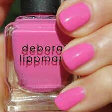 NEW! Deborah Lippmann WHIP IT Polish Lacquer ~ Perky Pink Punch Creme