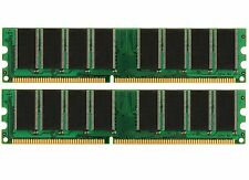 2GB (2x1GB) DDR PC3200 (NON-ECC) RAM for Gateway E-4100 Series