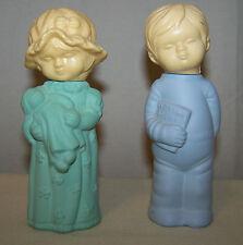Vintage AVON Little Dream Girl & Boy Cologne Set 1980's