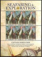 KIRIBATI 2009 SEAFARING & EXPLORATION CAPTAIN JAMES COOK Sheet 6 MNH