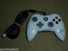 MICROSOFT XBOX 360 USB WIRED CONTROLLER - White Game Pad Control Gamepad MadCatz