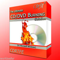 MUSIC AUDIO CD TO MP3 RIPPING SOFTWARE + BURN CD & DVD DISCS, FANTASTIC VALUE!