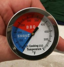 Add or Replacement gas charcoal smoker pit grill Bbq thermometer