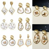 Fashion Statement Shell Geometric For Women Boho Dangle Earrings Modern Jewelry