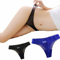 Sexy Low-rise Panties Seamless Ultra-thin Transparent Briefs Thong Underwear