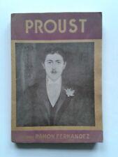 """Ramon FERNANDEZ """" PROUST """" dans la Nouvelle Revue Critique, 1943"""