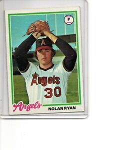 1978 Topps #400 Nolan Ryan California Angels HOF Strikeout King SEE SCANS