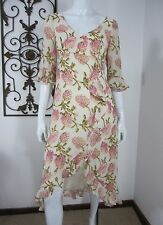 Nicole Miller Collection Long Sleeve Dress Size 6, Ivory