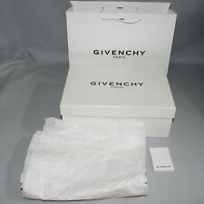 Givenchy Empty Box Gift Set Paper Bag Tissue Paper Care Guide