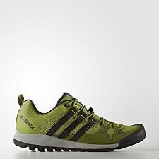 Adidas Men's Outdoor Terrex Solo Shoes, Unity Lime / Black / Blue - Bb5563