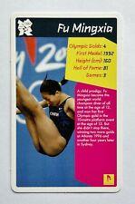 Top Trumps STT Card - 2012 Olympic Legends Athletes - Fu Mingxia - VGC