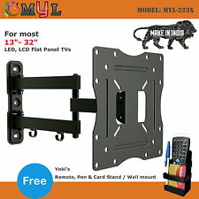 "17"" – 38"" Swivel Tilt Wall Mount stand LCD / LED TV + free Remote Stand"
