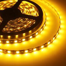 5M 5050 300SMD Amber Flexible Strip LED Light Waterproof 12V 300 Led Lamp IP65