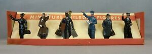 Vintage MTH O Scale Miniature Railroad Figures Cast Iron No. 550 in OB - EC
