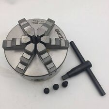 125mm 6 Jaw 5'' Lathe Chuck Self-Centering for CNC Drilling Milling Machine New