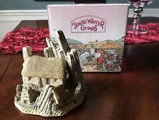 1986 David Winter Cottages-Crofter's Cottage-Great Britain-Box and Certificate
