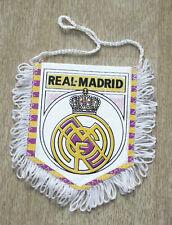 Vintage Football Pennant Real Madrid Spain Soccer Flag 9.5 x 8 cm