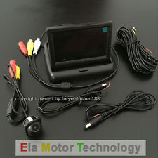 2 in 1 Rear View Camera+4.3 inch Color Monitor Backup Parking System For Nissan