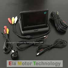 "Rear View Camera + 4.3"" Color Monitor Backup Parking System For Mercedes-Benz"