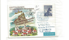 1961 Austria first day helicoptermail local use