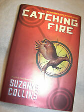 Catching Fire Hardcover Book by Suzanne Collins 2009 First Edition read once