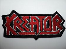 KREATOR SHAPED LOGO EMBROIDERED PATCH