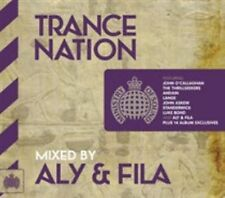 Trance Nation Aly & Fila by Various Artists (CD, May-2014, 2 Discs, Ministry of