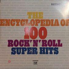 VA The Encyclopedia Of 100 Rock'N'Roll Super Hits Records 3&4 EX+ TVP 1009 LP