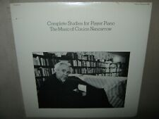 The Music Of CONLON NANCARROW Complete Studies For Player Piano 1 ONE SEALED LP