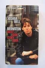 Joshua Bell - Bernstein West Side Story Suite VHS Promo Video Tape Violin Master