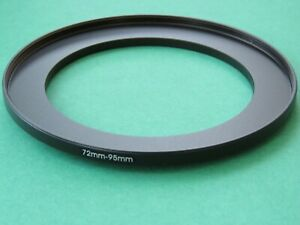 72mm-95mm Stepping Step Up Male-Female Filter Ring Adapter 72mm-95mm