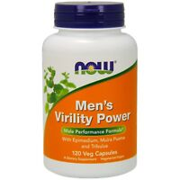 NOW Foods Men's Virility Power, 120 Veg Capsules